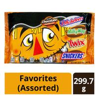 Mars Mini Chocolate - Favorites (Assorted)