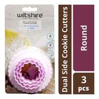 Wiltshire Dual Side Cookie Cutters - Round