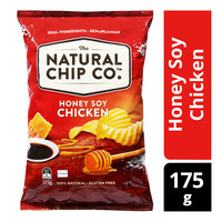The Natural Chip Co Potato Chips - Honey Soy Chicken