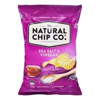 The Natural Chip Co Potato Chips - Sea Salt & Vinegar