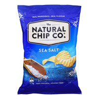 The Natural Chip Co Potato Chips - Sea Salt