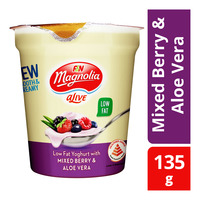 F&N aLive Low Fat Yoghurt - Mixed Berry & Aloe Vera