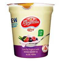 F&N aLive Low Fat Yoghurt - Mixed Berry & Aloe Vera