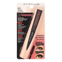 Maybelline Total Temptation Mascara - Washable (Very Black)