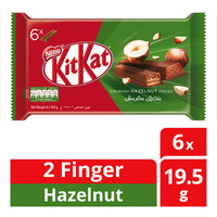 Nestle Kit Kat 2 Finger Chocolate Bar - Hazelnut