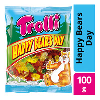 Trolli Gummy - Happy Bears Day