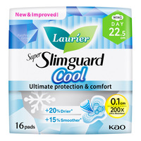 Laurier Super Slimguard Cool Day Pads - 22.5cm