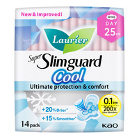 Laurier Super Slimguard Cool Day Pads - 25cm
