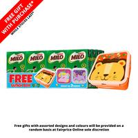 Milo Chocolate Malt UHT Packet Drink + Free Night Light