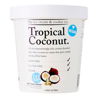 The Ice Cream & Cookie Co. Ice Cream - Tropical Coconut