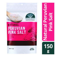 Nature's Nutrition Natural Peruvian Pink Salt