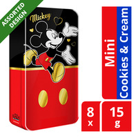 Nestle Kit Kat Mini Chocolate Bar - Cookies & Cream+DisneyTin