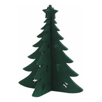 Imported Christmas Felt Decoration - Christmas Tree