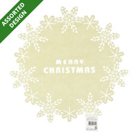 Imported Christmas Felt Decoration - Christmas Word