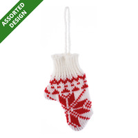 Imported Christmas Yarn Glove - Assorted
