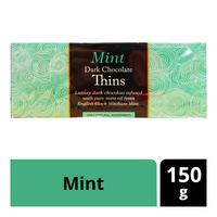Beech's Fine Chocolates Dark Chocolate Thins - Mint