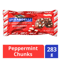 Ghirardelli Premium Holiday Baking Chocolate - Peppermint Chunks