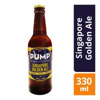 Pump Microbrewed Craft Bottle Beer - Singapore Golden Ale