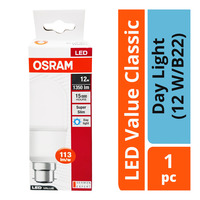 Osram LED Value Classic Bulb - Day Light (12 W/B22)