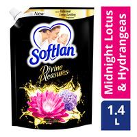 Softlan Fabric Softener Refill - Midnight Lotus & Hydrangeas