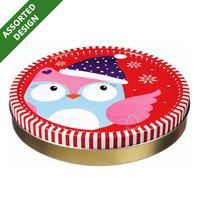 Jacobsens Christmas Collection Cookies Tin