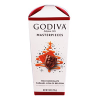Godiva Masterpieces Milk Chocolate - Caramel Lion of Belgium