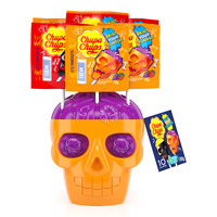 Chupa Chups Lollipops - Skull (Strawberry-Lime)