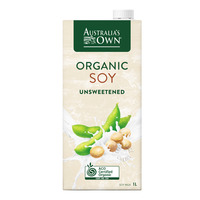 Australia's Own Organic Soy Milk - Unsweetened