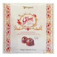 Vergani Le Gemme Chocolate Pralines - Hazelnut Cream & Cereals