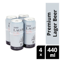 Tesco Can Drink - Premium Lager Beer