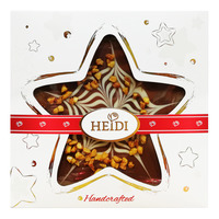 Heidi Gourmet Christmas Chocolate - Star