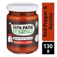 Little Pasta Organics Kids Pasta Sauce - Red Pepper & Ricotta