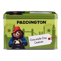 Paddington Mini Chocolate Chip Cookies Tin