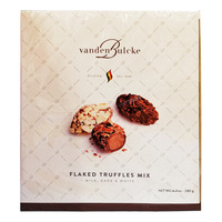 Vandenbulcke Flaked Chocolate Truffles - Assorted