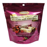 Golden Bon Bon Almond Nougat - Cranberry