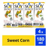 Soy Secretz Soy Milk Packet Drink - Sweet Corn