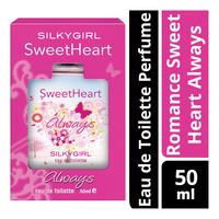 Silkygirl Eau de Toilette Perfume - Romance Sweet Heart Always