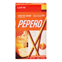 Lotte Pepero Stick Biscuits - Cheese Cream