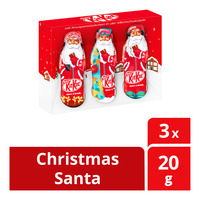 Nestle Kit Kat Chocolate Bar - Christmas Santa