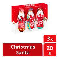 Nestle Kit Kat Chocolate Bar - Christmas Santa