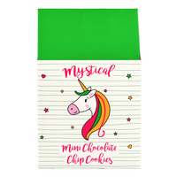 Unicorn Mini Chocolate Chip Cookies - Mystical