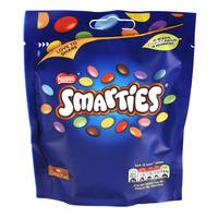 Nestle Smarties Milk Chocolate Pouch Bag
