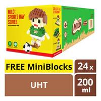 Milo Chocolate Malt UHT Packet Drink+Free MiniBlocks