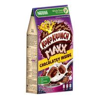 Nestle Koko Krunch Maxx Chocolate-filled Wheat Pillows Breakfast Cereals