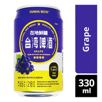 Taiwan Beer Fruit Can Beer - Grape