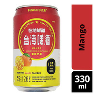 Taiwan Beer Fruit Can Beer - Mango