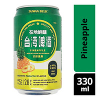 Taiwan Beer Fruit Can Beer - Pineapple