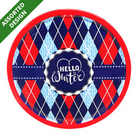 Royal Dansk Danish Cookies Tin - Hello Winter