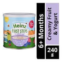 Heinz First Steps Porridge - Creamy Fruit & Yogurt (6+ Months)