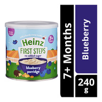 Heinz First Steps Porridge - Blueberry (7+ Months)